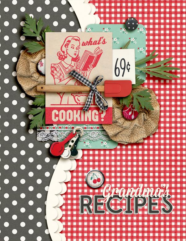 Recipe Book Cover Ideas ~ May template freebie amber labau designs