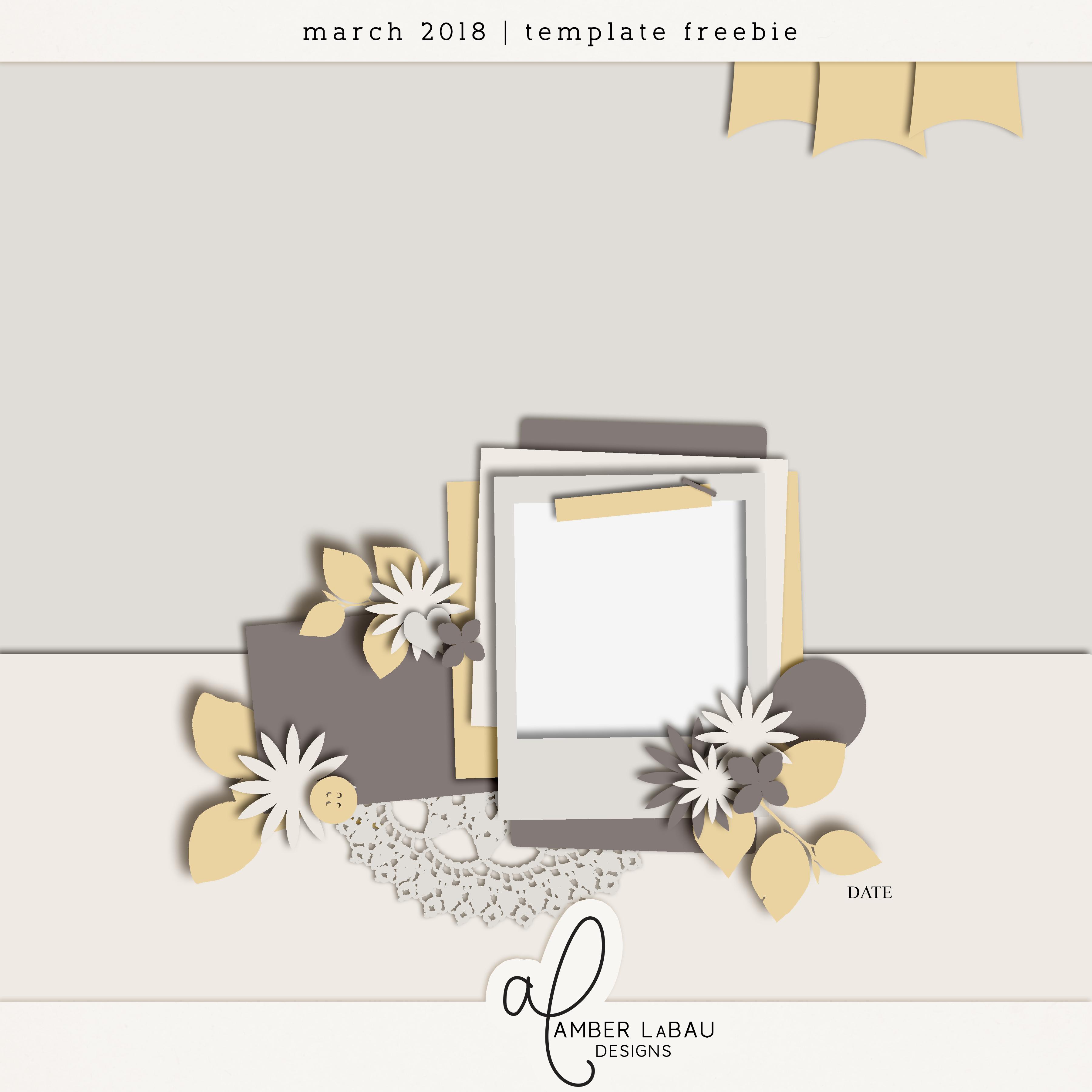 march template challenge amber labau designs